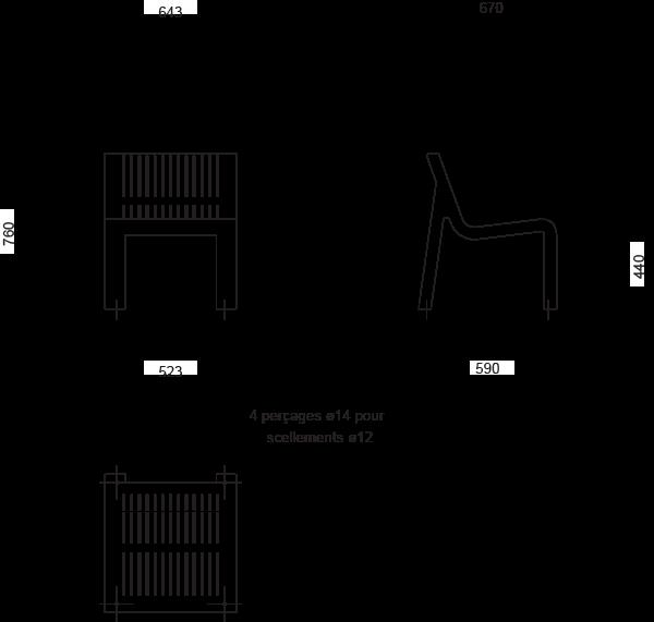 Plan Chaise ALTITUDE