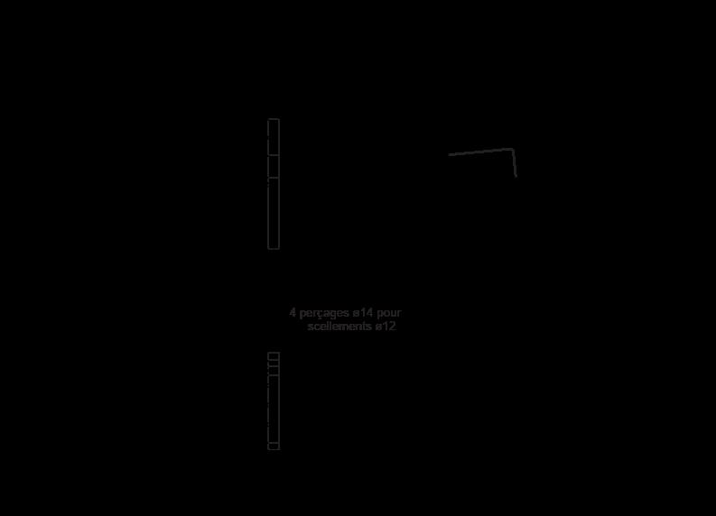 Plan Chaise KERMES - version avec accoudoirs